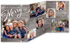 Tri-Fold Holiday Cards, Holiday Photo Cards & Holiday Greetings | Shutterfly