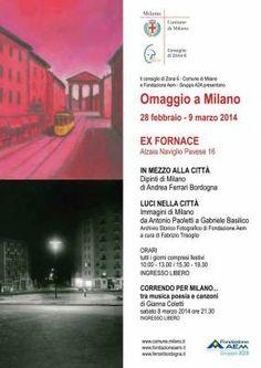 """""""Omaggio a Milano"""". Una mostra, due sguardi sulla città"""