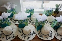 Tropical beach bachelorette gift idea {Courtesy of Love Always, Audrey} Flamingos and pineapples galore! This tropical beach bachelorette party was SO fun! Bachlorette Party, Beach Bachelorette, Bachelorette Party Decorations, Bachelorette Party Outfits, Bachelorette Sayings, Bachelorette Bride Gifts, Bachelorette Party Pictures, Beach Party Favors, Young Living