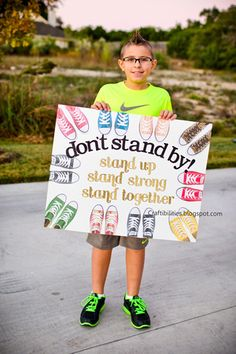 People who stand by when some one is being bullied are just as bad as the bully. Student Council Campaign, Student Council Posters, School Campaign Posters, Bullying Bulletin Boards, Bullying Posters, Anti Bullying Campaign, Bullying Lessons, Counselor Office, Student Leadership