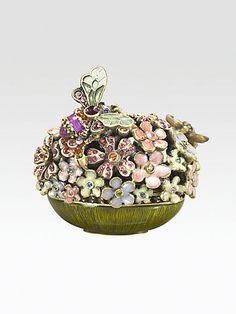 Jay Strongwater - Crystal Blossom Box - Saks.com