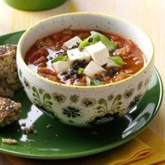 Winter Vegetable Soup Recipes - Southwest Vegetarian Lentil Soup Recipe - Click Pic for 22 Healthy Soup Recipes for Winter
