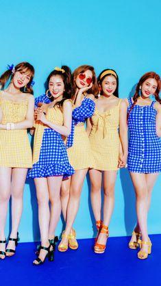 Red velvet Seulgi Irene Wendy Yeri Joy wallpaper lockscreen HD Fondo de pantalla Power Up Wendy Red Velvet, Red Velvet Joy, Red Velvet Seulgi, Red Velvet Irene, Kpop Girl Groups, Kpop Girls, Taemin, Bff, Divas