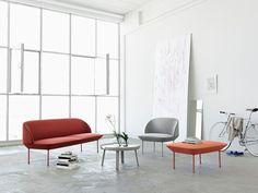 Fabric easy chair OSLO | Easy chair - MUUTO
