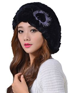 The Rex Rabbit Fur Beret is classic and elegant. This hat would look great paired with an elegant coat and a fur collar; you will look nothing short of fabulous.Brand new and high quality fur hat Real rabbit fur hat Good choice for women, lovely and fashionable Low price Hingh...