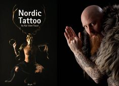 Nearly 25 years ago, pioneering Danish tattooists Erik Reime (Kunsten på Kroppen, Copenhagen) and Jorgen Kristiansen (Mjølner Tatovering, Aarhus) resurrected the ancient tradition of Nordic skin art through painstaking research of Celtic, Pict, and Viking tattoos