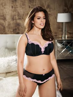 f314aca7abb81 V is for Vintage Contour bra   pantiey. Addition Elle