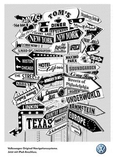 – Volkswagen Navigation Poster