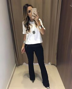 Swans Style is the top online fashion store for women. Shop sexy club dresses, jeans, shoes, bodysuits, skirts and more. Business Casual Outfits, Professional Outfits, Classy Outfits, Cool Outfits, Office Fashion, Work Fashion, Fashion Looks, Fashion Outfits, Womens Fashion