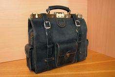 FREE SHIPPING doctor bag black doctors bag leather от LeatherVM