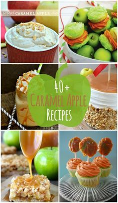 40+ Caramel Apple Re