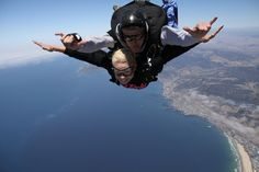 Sky Dive #PismoBeach - they jump on any day that's sunny!