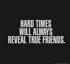 Hard times..