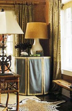 How To Make & Decorate With A Round Skirted Table