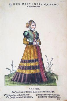 Hans Weigel - MEISSEN: Virgo Misnensis quando ad nuptias ire solet. Ein Jungfrau…