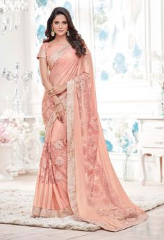 Sarees Online: Shop the latest Indian Sarees at the best price online shopping. From classic to contemporary, daily wear to party wear saree, Cbazaar has saree for every occasion. Indian Beauty Saree, Indian Sarees, Stylish Sarees, Designer Sarees Online, Net Saree, Art Silk Sarees, Indian Ethnic Wear, Indian Style, Ethnic Style