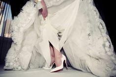 Un día es un día: luce los zapatos de tu diseñador favorito en tu boda