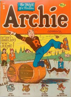 archie comics | The comic was so popular that an Archie Radio Series ran from 1943-53 ...