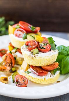 ... Balsamic Tomato Salad loaded with fresh herbs. Great for a light lunch
