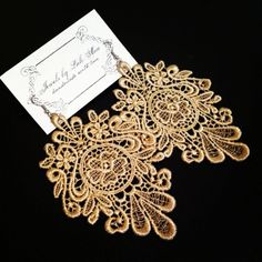 This Item Is Unavailable Lace Earringslace