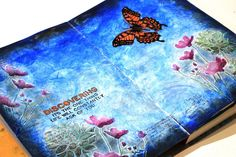 Ideas and Paper: Simon Says... Ombre Art Journal