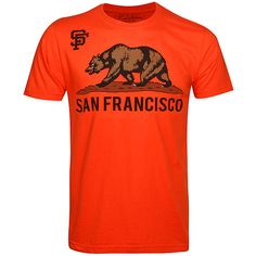 San Francisco Giants Golden State Bear T-Shirt - MLB.com Shop