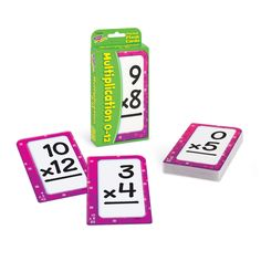 Trend Enterprises Multiplication Pocket Flash Cards -- See the picture web link more information. (This is an affiliate link). Multiplication Facts, Math Facts, Fun Learning, Learning Activities, Mastering Math, Study Cards, Bilingual Classroom, Math Practices, Business For Kids