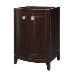 DECOLAV�Gavin Espresso Contemporary Bathroom Vanity (Common: 24-in x 22-in; Actual: 24-in x 21.5-in)