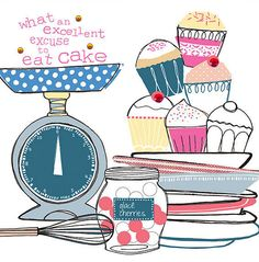 cake excuse