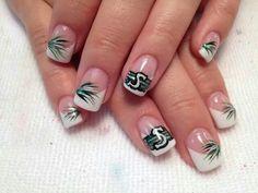 Roughriders Nail Polish Designs, Gel Nail Polish, Nail Designs, Saskatchewan Roughriders, Toe Nails, Nail Ideas, Michigan, Nail Art, Cosmetics