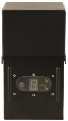 Moonrays 95432 200-Watt Power Pack for Outdoor Low Voltage Lighting with Light-Sensor and Rain-Tight Case by Moonrays. $73.92. From the Manufacturer                200 Watt control box with black metal rain tight case. Digital and photocell operated with programmable settings - 1 to 9 hours, dusk-to-dawn, always on, and always off.                                    Product Description                95432 Features: -Control box.-Allows for you to program your lig...