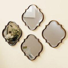 Crest Mirror traditional mirrors