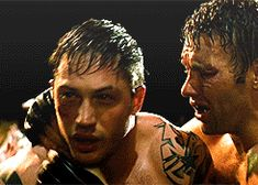 """"""" TOM HARDY BEING FLAWLESS ↳ Warrior (2011) """"Where were you when it mattered? I needed this guy back when I was a kid, I don't need you now. It's too late. Everything has already happened."""" """""""