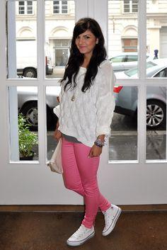 love pink pants