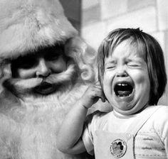 shorpyfan:Santa at Work (Upstate New York, 1961)