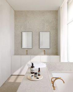 Penthouse S Westkaai Antwerpen 2015 Minimal Bathroom, Neutral Bathroom, Modern Bathroom, Master Bathroom, Colorful Bathroom, Bathroom Shop, Industrial Bathroom, Bathroom Interior, Stone Bathroom