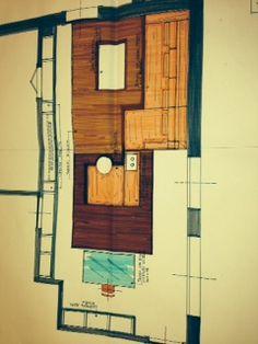 Pianta appartamento scala 1.20