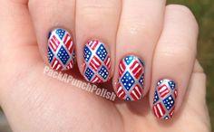 PackAPunchPolish: 4th of July Nails