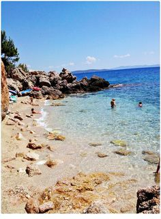 #neverhaveiever touched the warm sand of a Croatian Beach! Just one of the many beautiful beaches on the Hvar island @StudentUniverse
