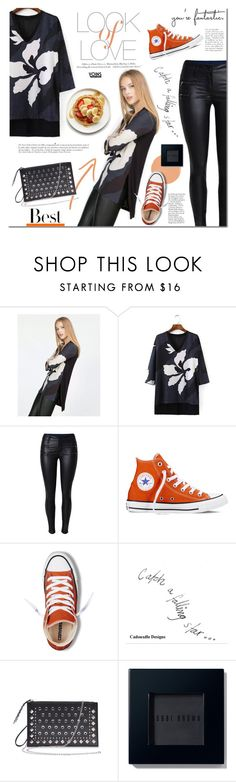 """""""Yoins.com"""" by mada-malureanu ❤ liked on Polyvore featuring Vince, Converse, H&M, Anja, MML, Bobbi Brown Cosmetics, women's clothing, women, female and woman"""