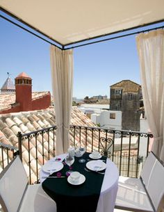 A small and exquisite hotel with lots of history, and with service beyond excellent. It is situated in the old town. The Francesa suite is perfect for romance, or just relaxing after a long day in the sun.