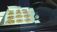 Last week in Arizona, it was hot enough to bake cookies on the dashboard of a car!