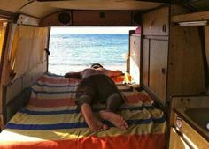 That's what campervans are made for.