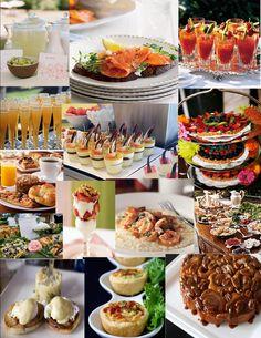 brunch wedding reception - Google Search  For Italian Eggs Benedict: www.saluteitalian.com/Menus/BRUNCH.pdf