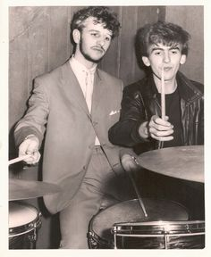 George and I. We knew each other- it isn't like Brian made the call and I'd never met them, I knew them really well by then.