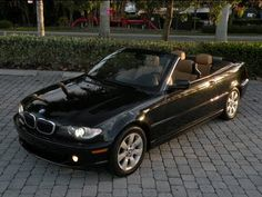 "Auto Haus of Fort Myers is offering this 2005 BMW 325Ci Convertible with only 64k Miles for $16,900. Equipped with a Black Sapphire Metallic Exterior, Natural Brown Leather Interior, Automatic Transmission, Power Heated Seats with Driver Memory, BMW Audio with CD Player, Power Convertible Top, Automatic Climate Control, Multi-Function Steering Wheel, Automatic Xenon Headlights, Dynamic Stability Control, 16"" Alloy Wheels & Much More. Call Auto Haus of Fort Myers at 239-337-4287"