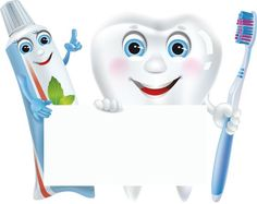 When you are teaching kids about all the important things in life one of the important things to teach them is good dental care. Dental Health, Oral Health, Preschool Crafts, Crafts For Kids, Library Logo, School Frame, Dental Art, Dental Logo, Borders For Paper
