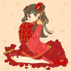 Pixiv Id 2194307, Cardcaptor Sakura, Li Meiling, Cage, Flats, Red Nails