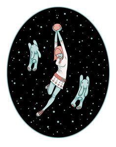 """""""Space Invaders"""" by Tara McPherson limited edition art print"""