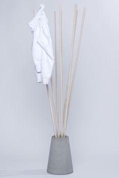 coat rack by Vytautas Gecas - via designvagabond
